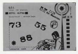 QSL Card 27MC Hotel Alpha Maastricht (NL) - CB