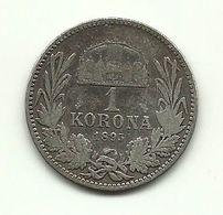 1895 - Austria 1 Korona - Autriche