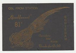 QSL Card 27MC Goudfazant Schiedam (NL) - CB