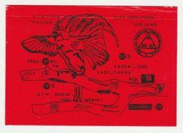 QSL Card 27MC Fauna Den Haag (NL) - CB