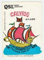 QSL Card 27MC Calypso & Lady Sint Annaland (NL) - CB