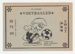 QSL Card 27MC Voetballer Turnhout (B) - CB