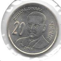 *serbia  20 Dinars 2011  Km 53   Unc - Serbia