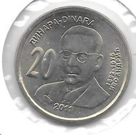 *serbia  20 Dinars 2011  Km 53   Unc - Serbie