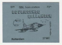 QSL Card 27MC De Vliegende Hollander Rotterdam (NL) - CB