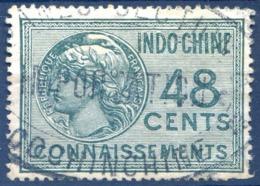 Indochine - Timbre Fiscal 48c. - CONNAISSEMENT - (F1606) - Autres