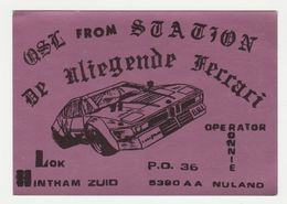 QSL Card 27MC De Vliegende Ferrari Nuland (NL) - CB