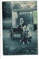 CPA-Carte Postale-Belgique-Bruxelles -Laitière Flamande--1906 VM18381 - Petits Métiers