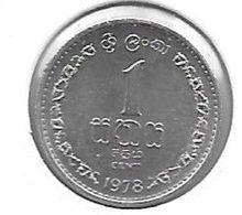 *sri Lanka 1 Cent  1978  Km 137   Unc - Sri Lanka
