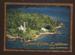 Capper Harbor Light - Lighthouses