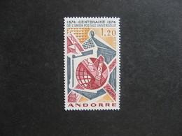 TB Timbre D'Andorre N°242, Neuf XX. - Andorre Français