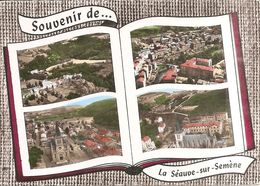 SOUVENIR De ... LA SEAUVE-sur-SEMENE (43) Le Bouchet - Vue Générale - L'Eglise (Ed : Lapie)  CPSM GF - Francia
