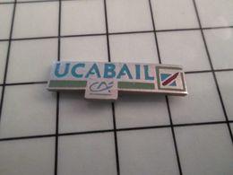 115e Pin's Pins / Rare & Belle Qualité !!! THEME : BANQUES / CREDIT AGRICOLE UCABAIL Par SP - Banques