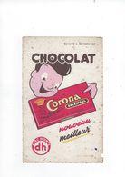 Buvard  Chocolat Coroba Delespaul  59 Lille - Cacao