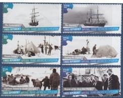 Ross, N° 150 à 155 + Bloc N°9 (Expédition De L'Endurance : Navire, Campement, Equipage, Aurore, Rescapés) Neuf ** - Ross Dependency (New Zealand)