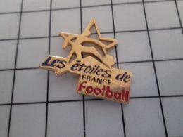 115e Pin's Pins / Rare & Belle Qualité !!! THEME : SPORTS / LES ETOILES DE FRANCE FOOTBALL - Football