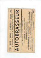Buvard   Autobrasseur     Delicieuse Boisson Ets  Lawendin-lefebvre 62 Lens - Food