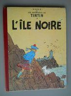 TINTIN - L'ILE NOIRE – B20 Bis – Edition 1957 – Bon Etat - Tintin