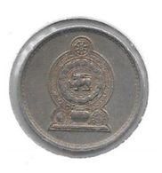 * Sri Lanka  25 Cents 1975  Km 141.1 - Sri Lanka