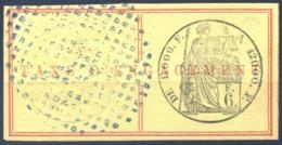 Réunion - Fiscal - TAXE D'ENGAGEMENT 6F. - (F1620) - Réunion (1852-1975)