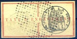 Réunion - Fiscal - TAXE D'ENGAGEMENT 4F. - (F1623) - Réunion (1852-1975)