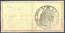 Réunion - Fiscal - TAXE D'ENGAGEMENT 2F. - (F1624) - Réunion (1852-1975)