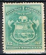 LIBERIA YT 34 (*) - Liberia