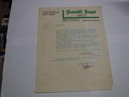 VICENZA    ---  RADIO - APPARECCHI  DA ASCOLTO - MUSICA ---    FRATELLI  FAGGI  -- RADIO TELEFUNKEN - Italië