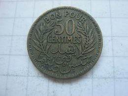 Tunisia , 50 Centimes 1941 - Tunisia
