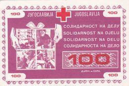 CROATIA  --  SOLIDARNOST NA DJELU  --  100  DINARA - Croatie