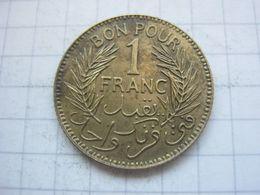 Tunisia , 1 Franc 1941 - Tunisia