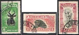 LIBERIA YT 140-141-145 - Liberia