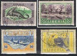 LIBERIA YT 171-174-174-175 - Liberia