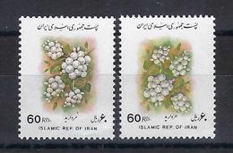 Iran - Variété - N° 2349 ** - Neuf Sans Charnière - Centre Renversé - RARE - Irán