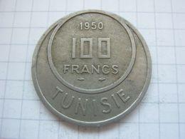 Tunisia , 100 Francs 1950 - Tunisia