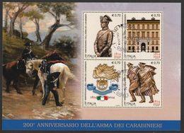 ITALIA Bicentenario Dell'Arma Dei Carabinieri Anno 2014 Usato - 2011-...: Usados