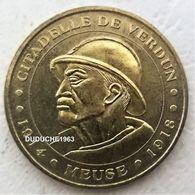 Monnaie De Paris 55.Verdun - La Citadelle 2008 - Monnaie De Paris