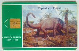 100 Units Dinosaur ( Diplodocus Longos ) - Tschechische Rep.