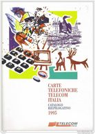 Catalogo Carte Telefoniche Telecom - 1995 N.08 - Schede Telefoniche