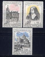 VATICAN - 555/557** - SAINTE THERESE DE LISIEUX - Vatican
