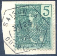 Indochine N°27 - TAD SAIGON A COCHINCHINE - (F1641) - Indochina (1889-1945)
