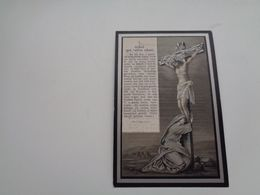 Doodsprentje ( 1878 )  Verdoolaege / Ghyselen  -  Houthem  Houtem 1892 - Avvisi Di Necrologio
