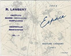 Calendrier  Petit Format 1964  R Lambert  Coiffure  76 Conteville - Calendriers