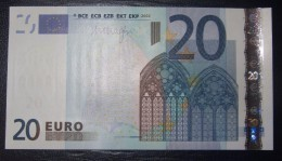 20 Euro Netherlands R018C1 DRAGHI Serie P UNCIRCULATED - EURO