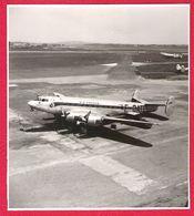 Avion BLOCH 161 Languedoc SE.161 AIR FRANCE F-BATP Sur Le Tarmac Du BOURGET En 1949 - Aviation