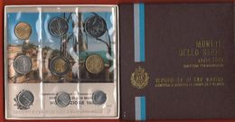 San Marino Serie 1983 Minaccia Atomica Divisionale Coin Set 9 Val. - Saint-Marin