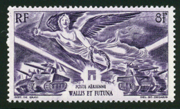 Wallis Et Futuna PA 1946 Yvert 4 ** TB Victoire - Luftpost