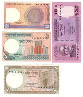Bangladesh Lot 4 Banknotes UNC/AUNC .LF1. - Bangladesh