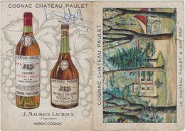 Calendrier  Petit Format 1952 Chateau Paulet  Jarnac-cognac 16 - Calendriers