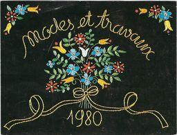 Calendrier  Petit Format 1980 Modes Et Travaux - Kalenders
